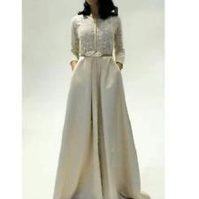 Moroccan Royal Caftan Takchita Abaya Maxi Dress Handmade Collection Fashion 2018