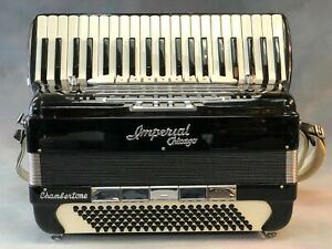 Imperial Chicago Chambertone Accordion - 3 Reeds - Single Tone Chamber