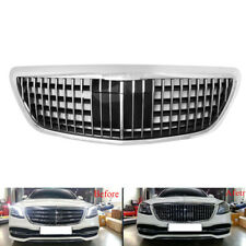 Chrome Front Maybach Barbus Style Grille for Benz S-Class W222 S320 S350 14-19