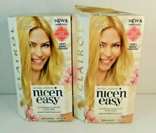 Clairol Nice'n Easy Permanent Hair Color Extra Light Pale Blonde 10PB 2 Boxes
