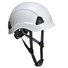 Universal Kletterhelm EN397 weiß Klettersteighelm Helm Fallschutz Kopfschutz