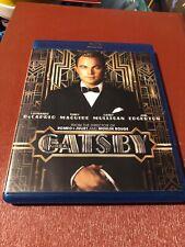 The Great Gatsby 2013 2-Disc Blu-ray DVD Combo Leonardo DiCaprio, No Digital
