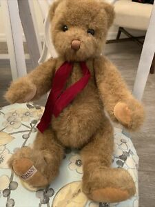 """Vintage 1987 Baltman's by Gund 14"""" Teddy Bear Collectible and Limited edition"""