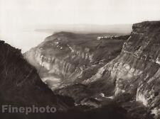 1926 Vintage UK England BLACKGANG CHINE Ventnor Landscape Photo Art ~ E.O. HOPPE
