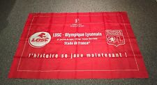 DRAPEAU FOOT FOOTBALL LIGUE 1 LILLE LOSC DOG LYON OL STADE DE FRANCE PARTOUCHE