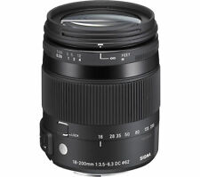 SIGMA 18-200 mm f/3.5-6.3 DC Macro OS HSM C Telephoto Zoom Lens - for Nikon - Cu