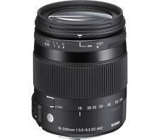 SIGMA 18-200 mm f/3.5-6.3 DC Macro OS HSM C Telephoto Zoom Lens - for Nikon