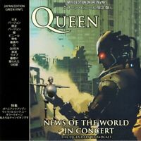 QUEEN News Of The World In Concert: The Legendary Broadcast (Green vinyl)
