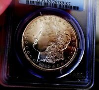 Morgan Silver Dollar 1882 CC PCGS MS 65+++++ Looks PL Older Holder Monster COIN