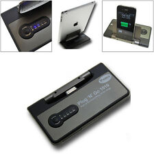 Apple iPhone iPad 2 3 4 4S Sync Backup Battery USB Charging Data Dock Plug N Go