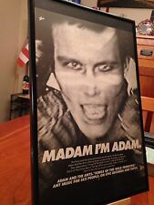 """1 BIG 11X17 FRAMED ADAM (ANT) AND THE ANTS LP ALBUM CD """"PROMO AD""""- choose from 5"""