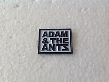 Adam & The Antz Pin Badge 1977 Punk Rock Dirk Wears White Sox Antpeople Adam Ant