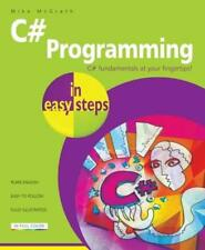 C# Programmazione in Easy Passi di Mike Mcgrath Libro Tascabile 9781840787191
