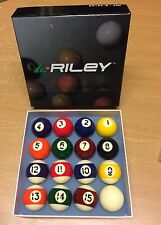 BRAND NEW RILEY KIDS SMALL 41mm SPOTS & STRIPES POOL SET - 16 Ball – 1 5/8 Inch