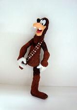 figurine walt disney star wars - goofy en chewbacca manque 1 jambe...