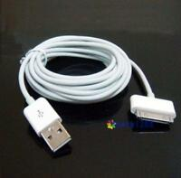 10ft USB Data Sync Charge Cable Adapter for Apple iPad 2 iPhone 4 4S 3GS iPod MO