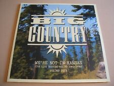 Big Country - We're Not In Kansas volume four  2 x lp white