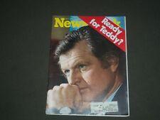 1975 JUNE 2 NEWSWEEK MAGAZINE - TEDDY KENNEDY - NW 220