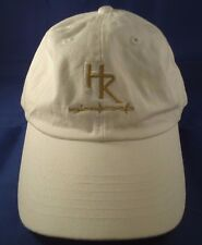 University of Denver Ball Cap Hat Velcro Adjustable Pioneers HR Barbwire White