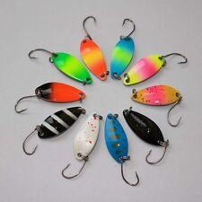 10 ONDULANTI 5g HARDBAIT Lure Esca Artificiale Pesca Spinning Pike Bass Trota