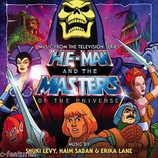 HE-MAN MASTERS OF THE UNIVERSE 2-CD Set LA-LA LAND Ltd TV Soundtrack SCORE New!