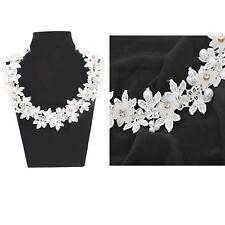 Sanskriti Indian Handmade Applique Craft White Dress Decor Patch Ad Stone