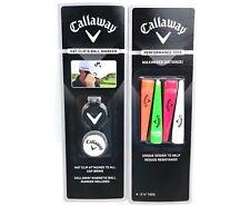 Callaway High Performance Golf Tees & Hat Clip w/ Ball Marker Lot