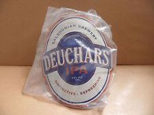 Deuchars IPA Ale Beer Pump Clip Bar Collectible NEW