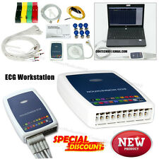 Handheld ECG Workstation EKG System 12-lead Resting Software base EKG Machine