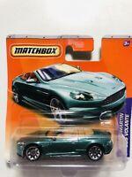 Rare Matchbox Aston Martin DBS Volante diecast mint carded MIB vintage