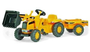 CAT Kid Tractor with Trailer by Kettler