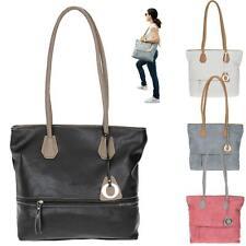 Handtasche Damen Alessandro Shopper Bologna A4 Henkeltasche Kunstleder 5400 Wahl
