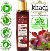 Khadi Global Red Onion Hair Growth Oil With Pure 100% Natural Hair Food 200 ml