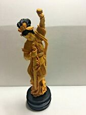 Vintage  Chinese Figure-Woman with Sword