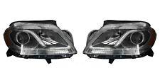 FIT MERCEDES BENZ GL CLASS 2008-2011 GL350 400 HEADLIGHTS HEAD LIGHTS LAMPS PAIR