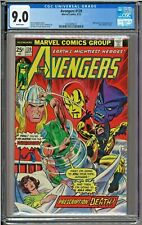 Avengers #139 CGC 9.0 White Whirlwind Toad Gil Kane