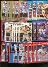 BRIAN DOWNING  BULK LOT OF 100 BASEBALL CARDS ANAHEIM  ANGELS only
