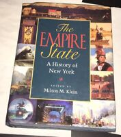 Empire State : A History of New York 2001 Hardcover NYC Buffalo Rochester Albany