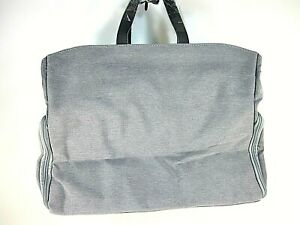 """MOMCOZY BREAST PUMP BAG WITH 13"""" LAPTOP SLEEVE GREY LARGE NEW WITH TAGS"""
