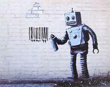 Robot, Offset Lithograph, BANKSY