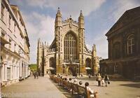Postcard: Bath Abbey, Avon - West Front (1970s)