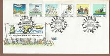 Australia 1988 1st Day Cover Living Together Part Two