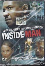 Dvd **INSIDE MAN** con D. Washington C. Owen J. Foster nuovo sigillato 2006