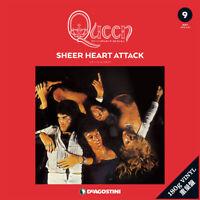 Queen LP Record Collection #9 SHEER HEART ATTACK Vinyl DeAGOSTINI w/Track