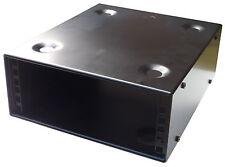 2U 10.5 inch (266 mm) Half-Rack 300mm DEEP STACKABLE CABINET CASE FOR AV AUDIO