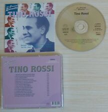 CD COMPILATION BEST OF TINO ROSSI 14 TITRES LES CHANSONS ETERNELLES