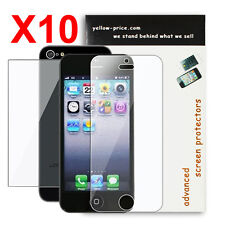 Front/Back Apple® iPhone® 5 Premium LCD Clear Screen Protector Cover [10-Packs]