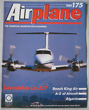 Airplane Issue 175 Lavochkin La-5/7 cutaway drawing & poster, Beech King Airs