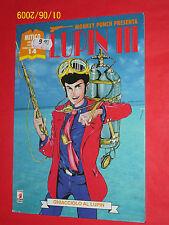 "LUPIN III- 1°SERIE-N°14- "" ghiacciolo "" DI:MONKEY PUNCH-ESAURITO-STAR COMICS"