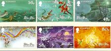 Alderney-peter Pan Set Di 6 MNH
